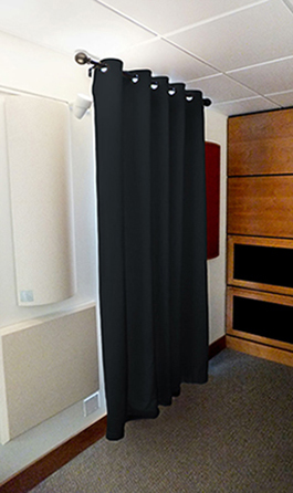 Designer Acoustical Curtains – Sound Absorbing Curtains